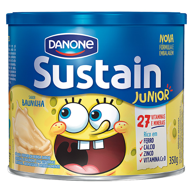 SUSTAIN 350G JUNIOR BAUNILHA