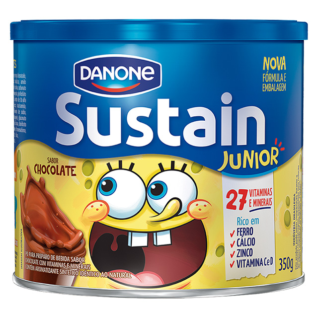 SUSTAIN 350G JUNIOR CHOCOLATE