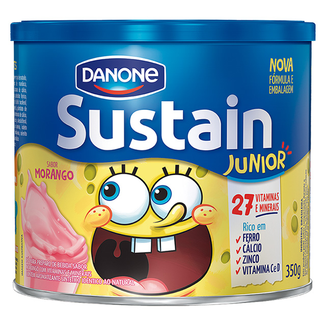 SUSTAIN 350G JUNIOR MORANGO