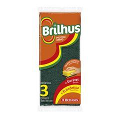 ESPONJA BETTANIN BRILHUS PROT UNH C/3 BT4873