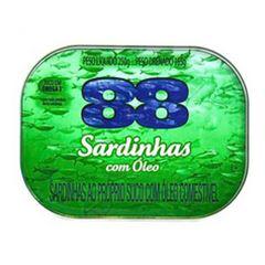 SARDINHA 88 250G LAJE AO OLEO