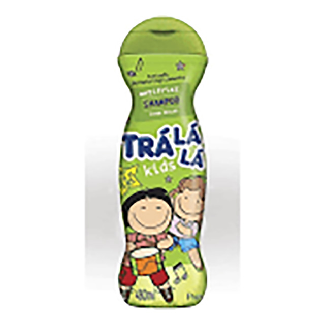 SHAMPOO TRALALA KIDS 480ML ANTI FRIZZ
