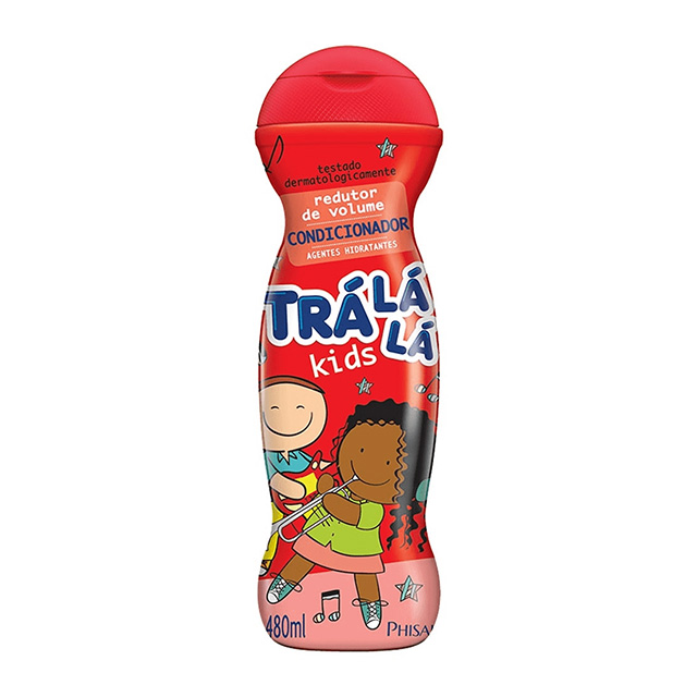 CONDICIONADOR TRALALA KIDS 480ML REDUTOR VOLUME