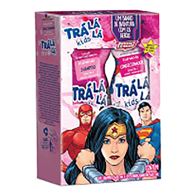 KIT SHAMPOO+COND TRALALA KIDS 480ML FEM