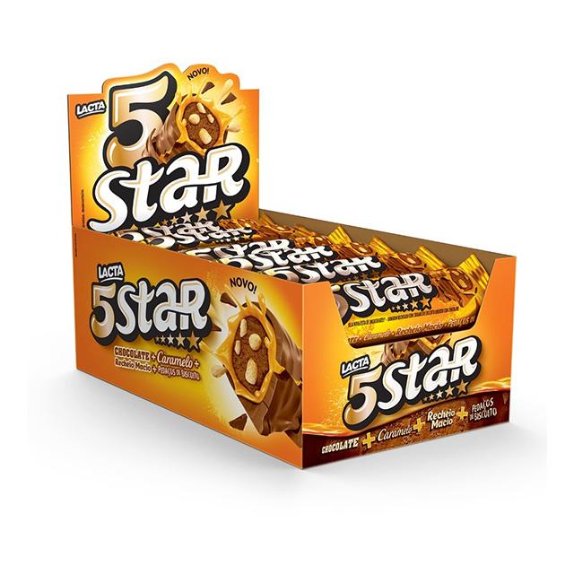 5 STAR LACTA 18X40G