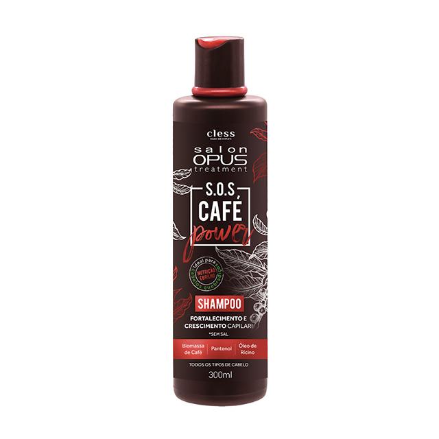 SHAMPOO OPUS SALON 300ML SOS CAFE