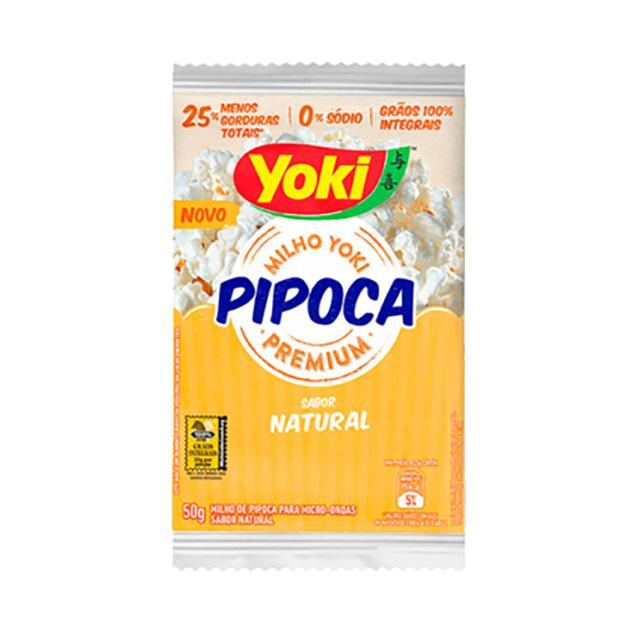 PIPOCA MICRO YOKI 50G NATURAL