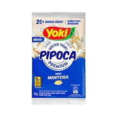 PIPOCA MICRO YOKI 50G MANTEIGA