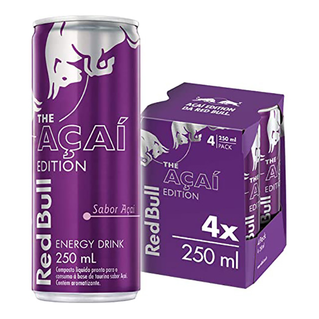 RED BULL ENERGY DRINK SUMER ACAI 4X250ML