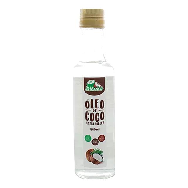 OLEO DE COCO DIKOKO 500ML GAR EXT VIRGEM