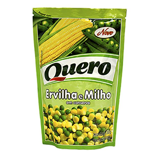 DUETO ERVILHA/MILHO QUERO 200G SACHE
