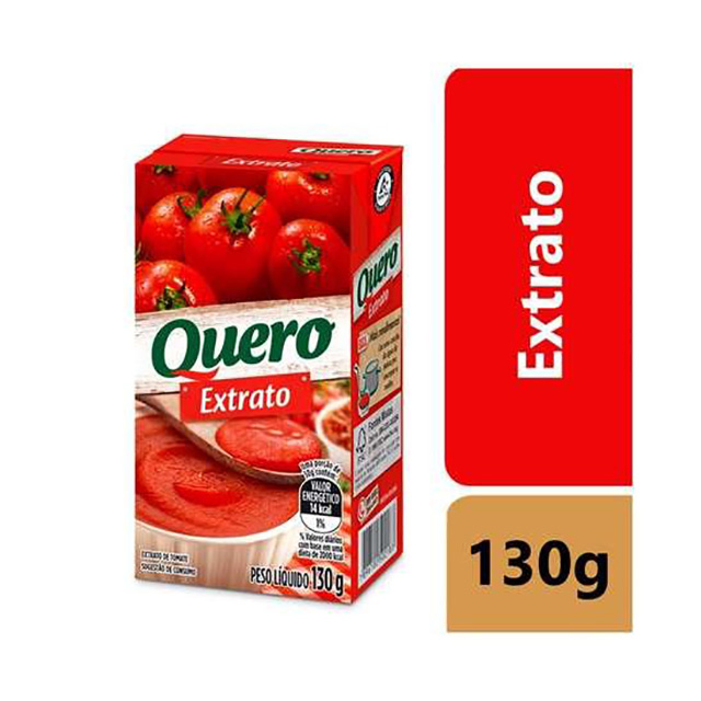 EXTRATO TOMATE QUERO 130G TP