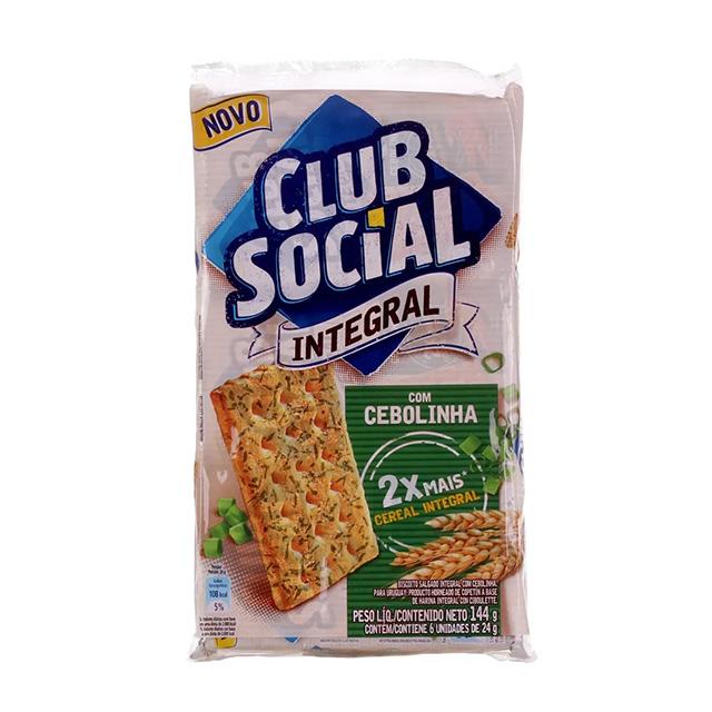 BISCOITO CLUB SOCIAL 06X24G INTEGRAL CEBOLA