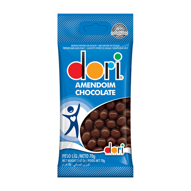 AMENDOIM DORI 70G CHOCOLATE