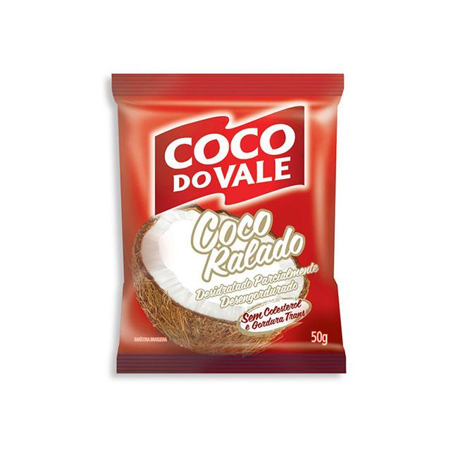 COCO RALADO COCO DO VALE 50G DESIDRATADO