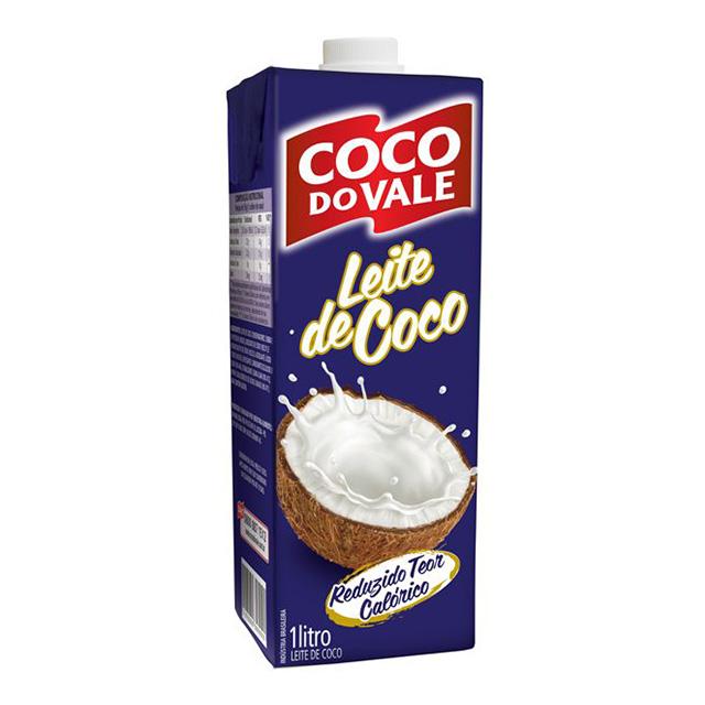 LEITE DE COCO COCO D VALE 1L REDUZ TP