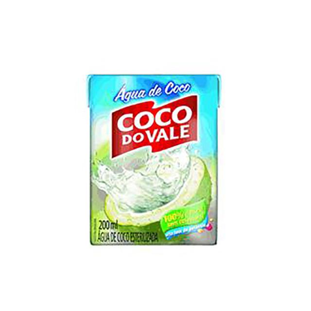 AGUA DE COCO COCO DO VALE 200ML-TP