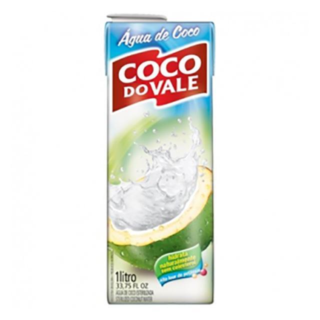 AGUA DE COCO COCO DO VALE 1LT-TP
