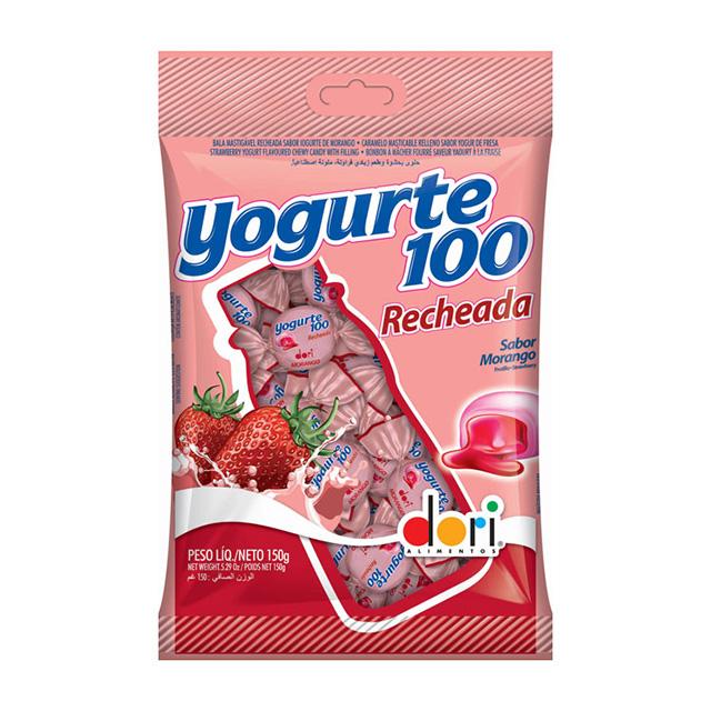 BALA DORI 150G YOGURTE100 RECHEADA MORAN