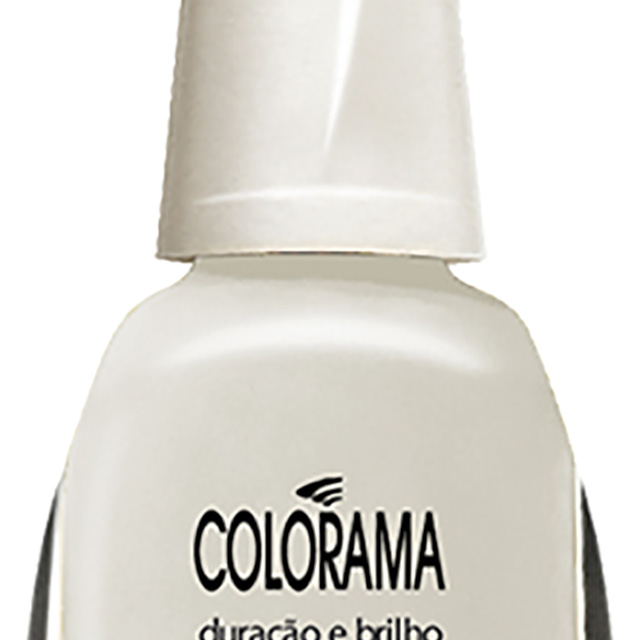 ESMALTE COLORAMA CREM  PETALA BRANCA BL 8ML MP