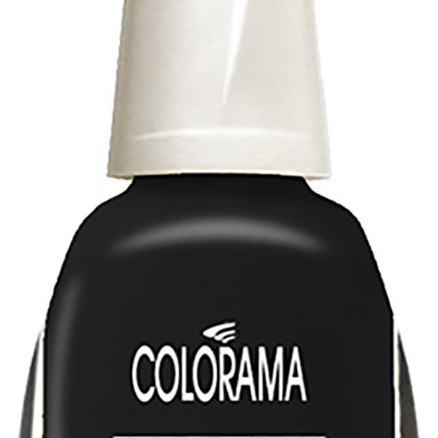 ESMALTE COLORAMA CREM BLACK 8ML MP