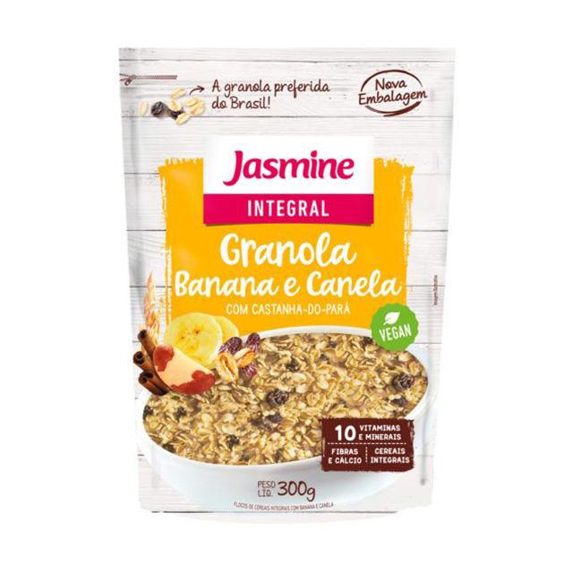 GRAIN FLAKES JASMINE 300G BANANA/CANELA