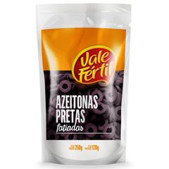 AZEITONA V.FERTIL 120G PRETA FATIAD PACK