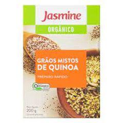 QUINOA ORGANICA JASMINE 250G GRAOS MISTA