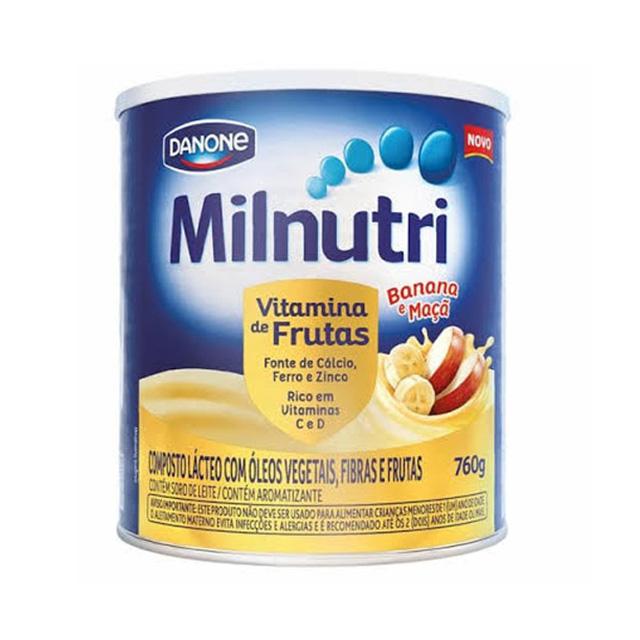 MILNUTRI GUM 760G VITAMINA DE FRUTAS