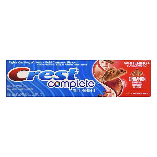 CREME  DENTAL CREST COMP WHIT+CINNARUSH 170G