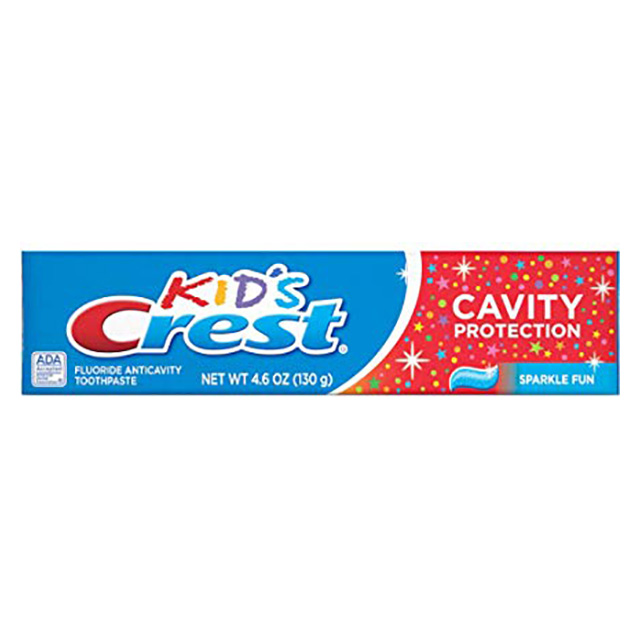 CREME  DENTAL CREST KIDS SPARKLE FUN 130G