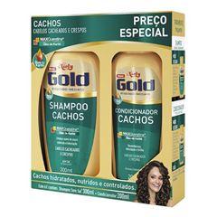 SHAMPOO NIELY GOLD 300ML+COND200ML CACHOS MP