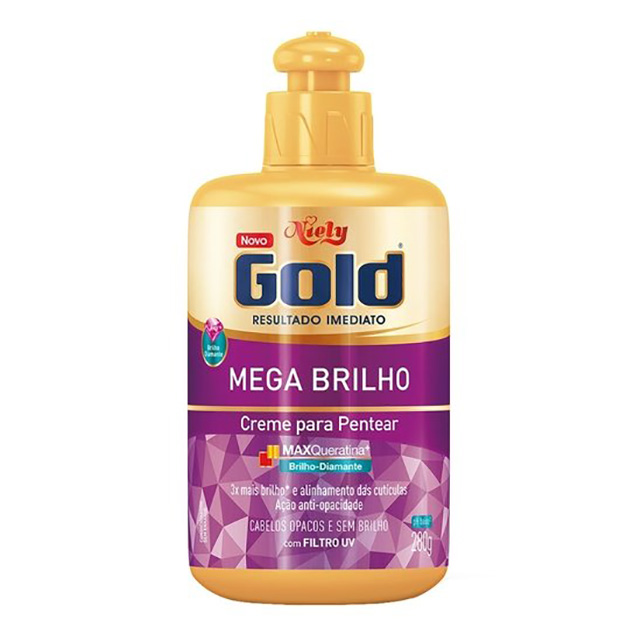 CREME PENT NIELY GOLD 250G BRILHO ABSOL MP
