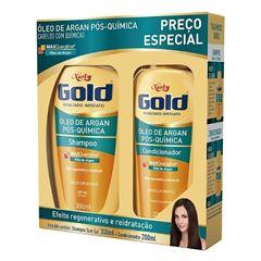 SHAMPOO NIELY GOLD 275ML+COND175ML POS-QUI MP