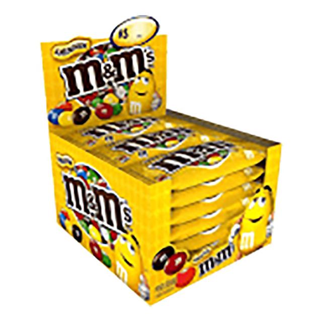 M&M AMENDOIM 18X45G
