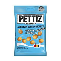 AMENDOIM PETTIZ 120G CROC GERG/LINHAC