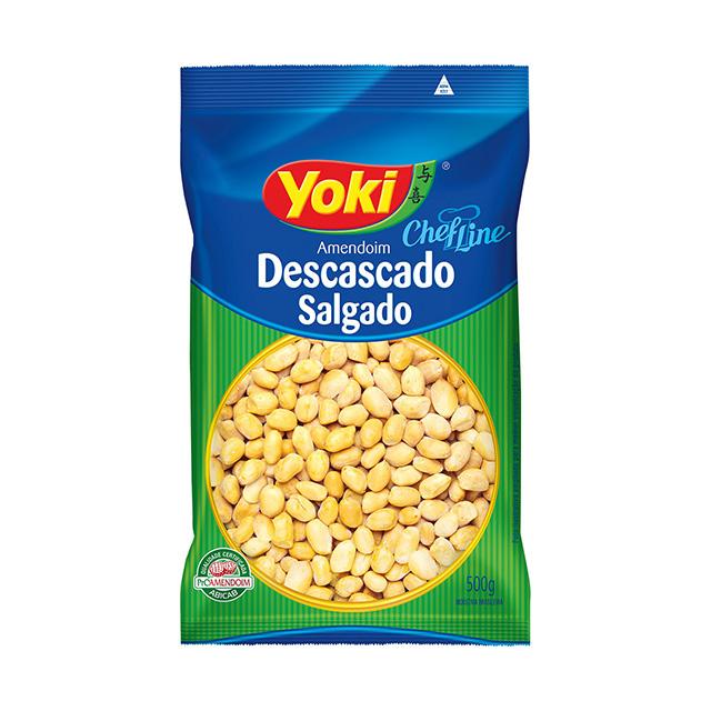 AMENDOIM YOKI 500G DESC SALGADO