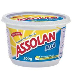 SABAO EM PASTA ASSOLAN ATOL 500G