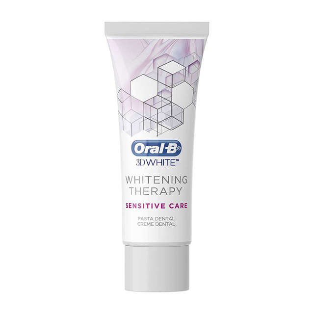 CREME DENTAL ORAL B 3D WHITE SENS CARE  90G