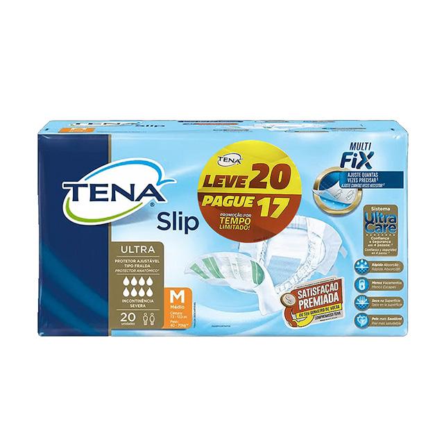 FRALDAS TENA SLIP M L20P17