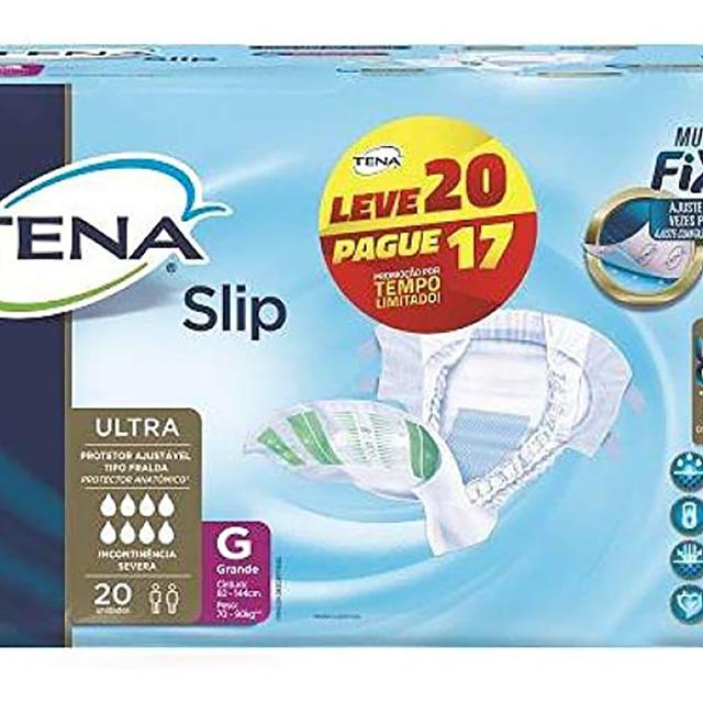 FRALDAS TENA SLIP G L20P17