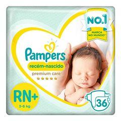 FRALDAS PAMPERS PC RN NB+ C/36UN
