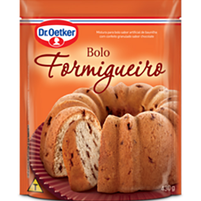 MIST P/BOLO DR.OETKER 430G FORMIGUEIRO