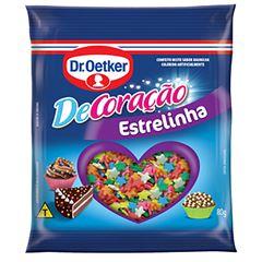 CONFEITADO DR.OETKER 80G ESTRELINHA