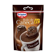 BOLO DE CANECA DR.OETKER 70G CHOCOLATE