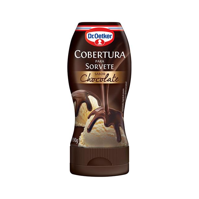 COBERTURA P/SORVE DR.OETKER 190G CHOCOLA