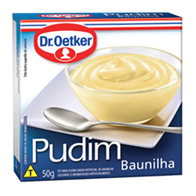 PUDIM DR.OETKER 50G BAUNILHA