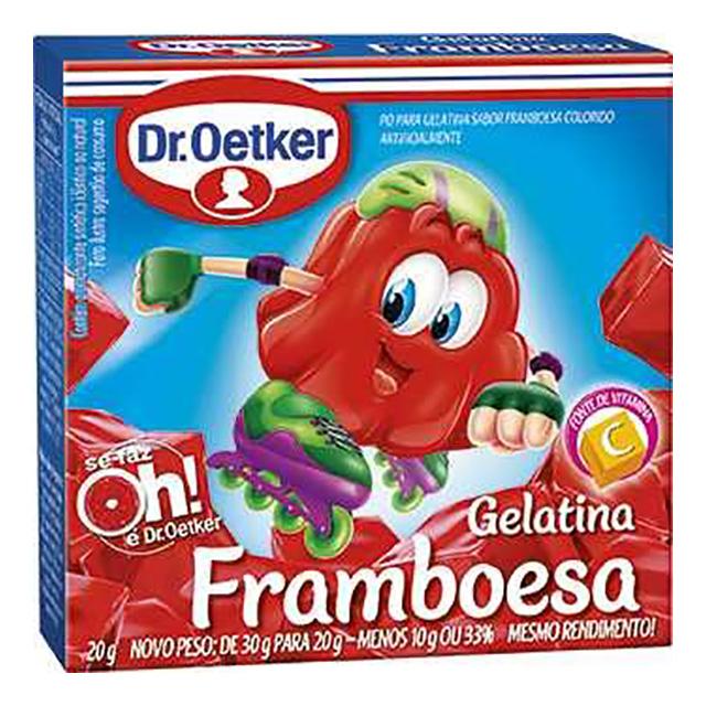 GELATINA DR.OETKER 20G FRAMBOESA