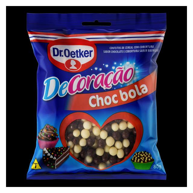 CONFEITADO DR.OETKER 80G CHOCO BOLA