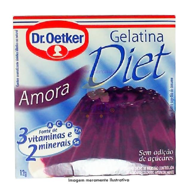 GELATINA DR.OETKER 12G DIET AMORA